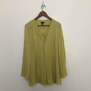 Escada Long Sleeve button down blouse